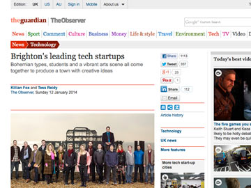 Observer Tech Monthly: Brighton's leading startups